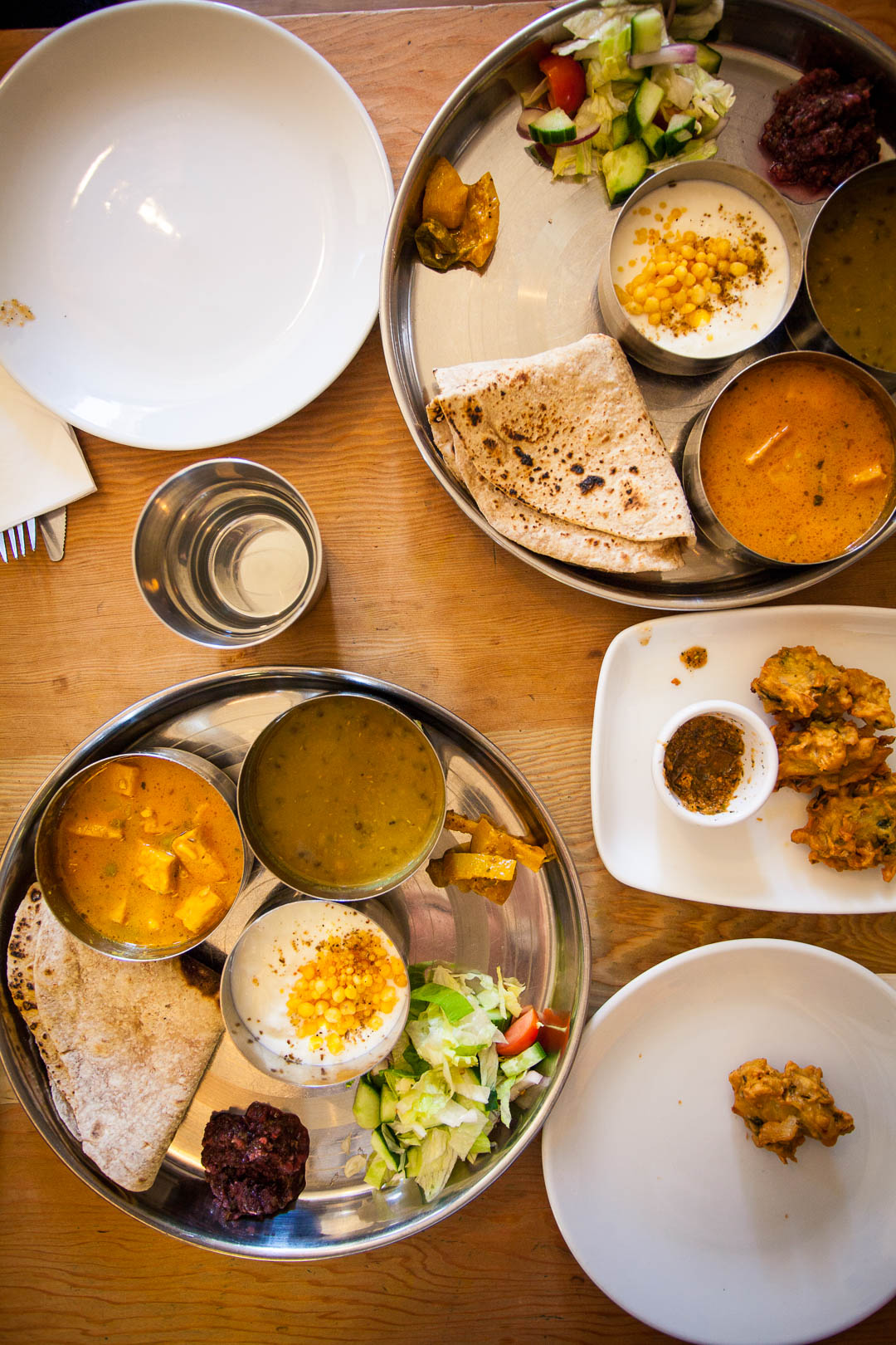 Restaurant Review: Ranjit's Kitchen Glasgow | Ranjit's Kitchen Glasgow is a family-run vegetarian restaurant serving authentic Panjabi food. The menu is simple and minimalistic, offering only what you would find in a traditional Panjabi household on a daily basis, such as daal, sabji, pakora and paranthas, with lots of vegan options.