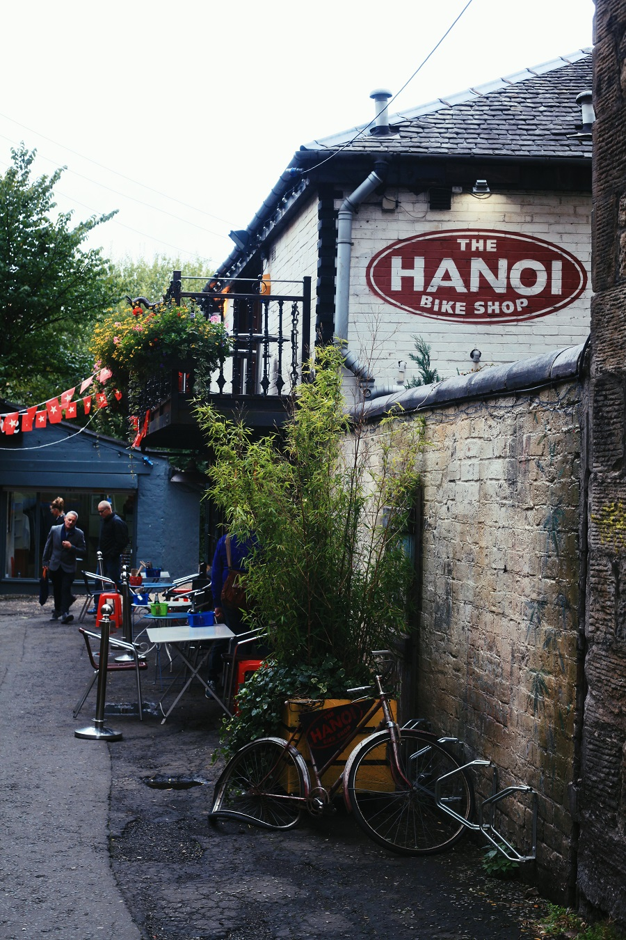 Hanoi Bike Shop Glasgow - restaurant