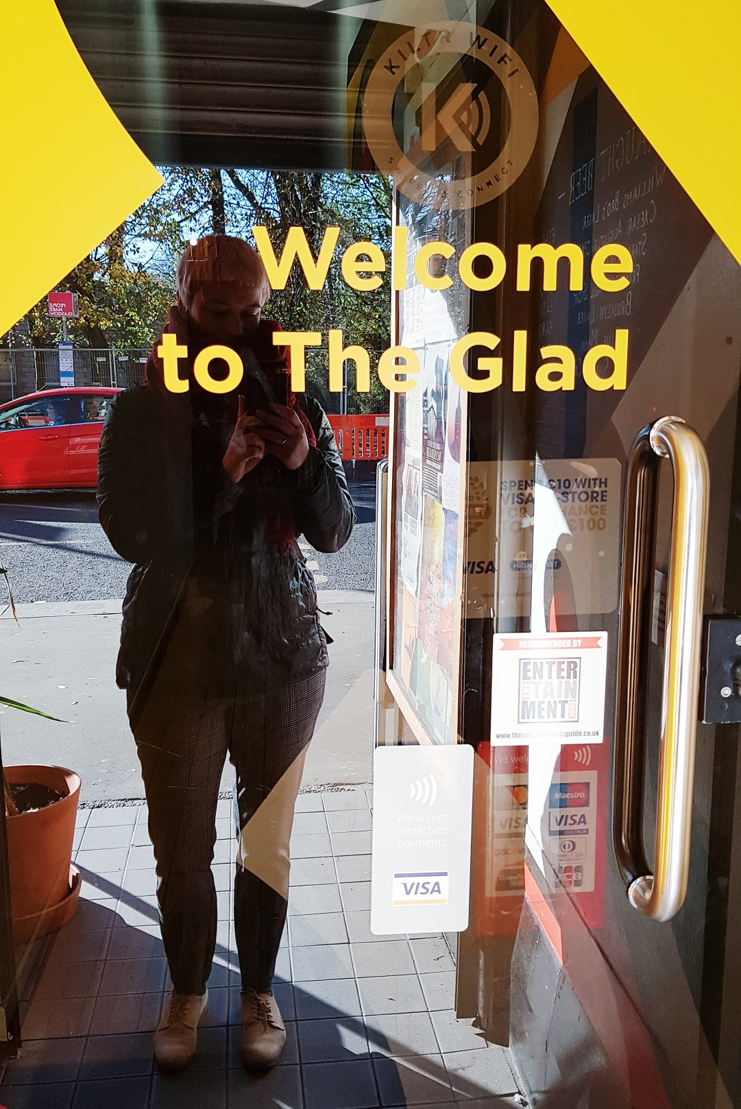 The Glad Cafe Glasgow