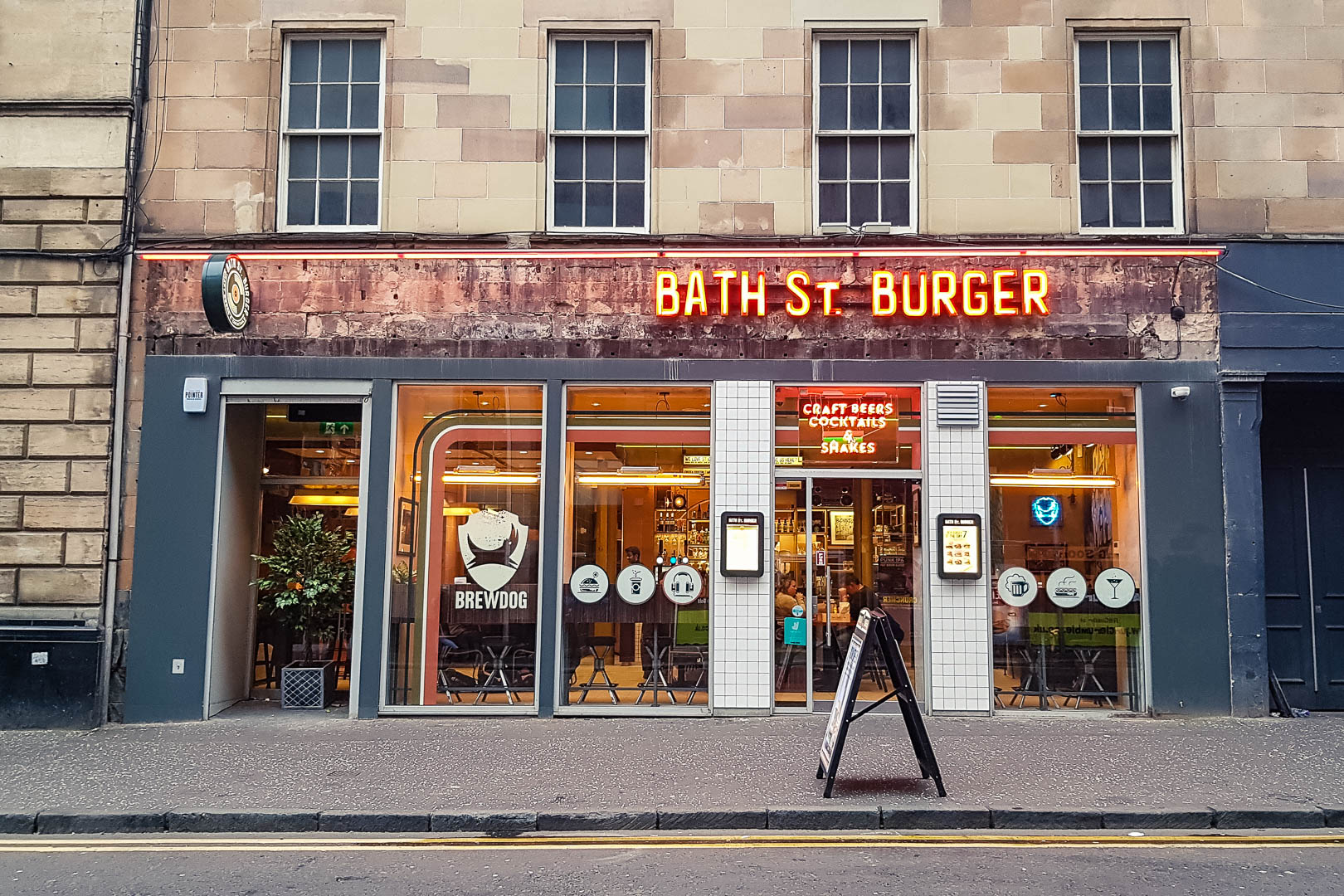 Bath St Burger Glasgow